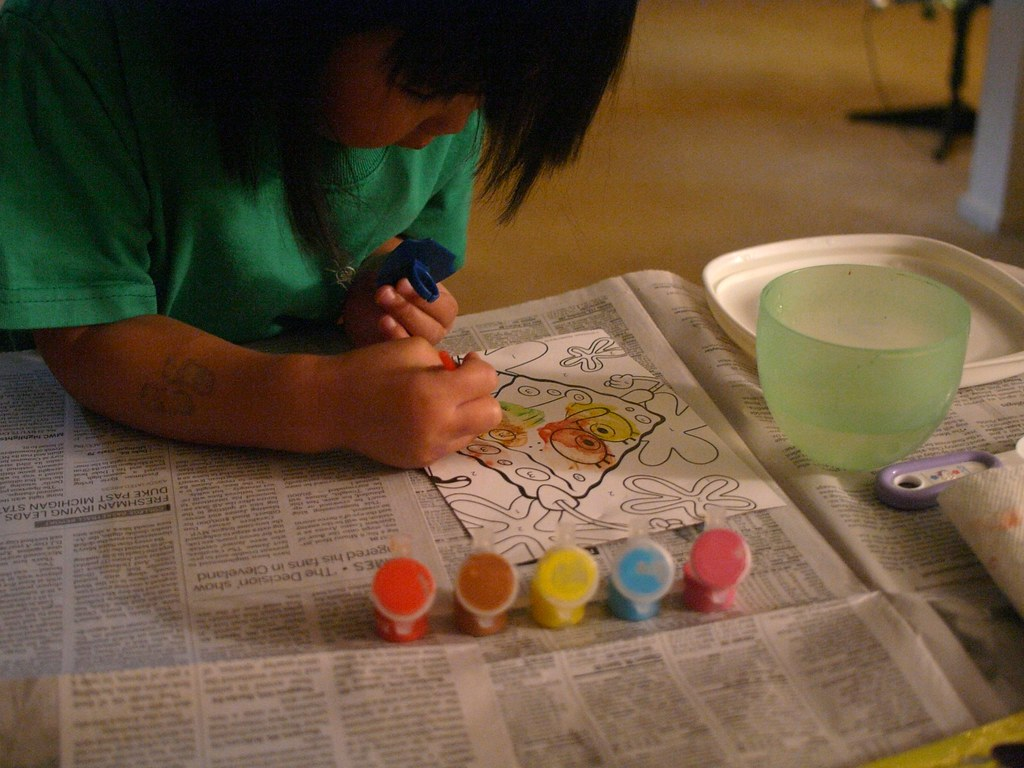 Kids vs adults paint by numbers: What is the difference